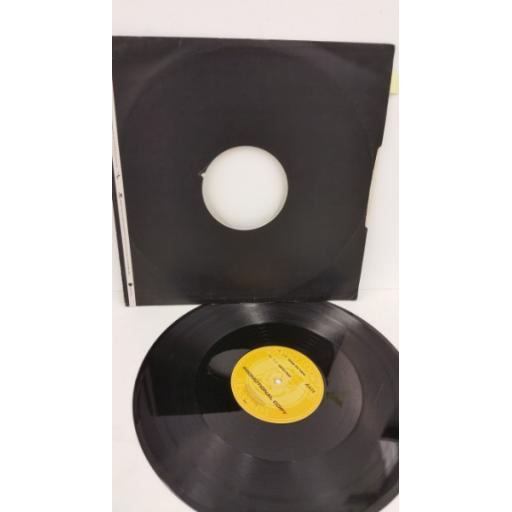 AXIS one in ten / dusted, 12 inch single, promo copy, GLR 17