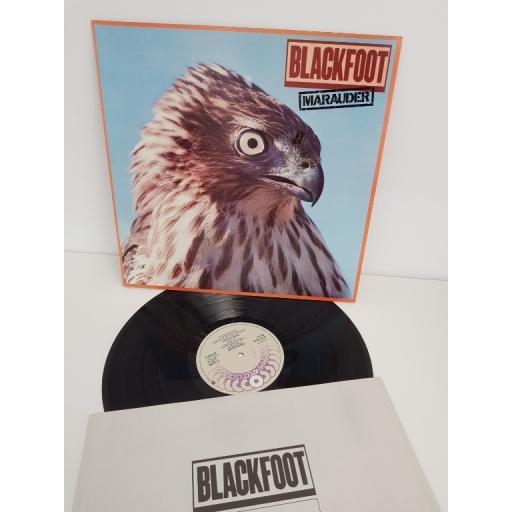 """BLACKFOOT, marauder, K 50799, 12"""" LP"""