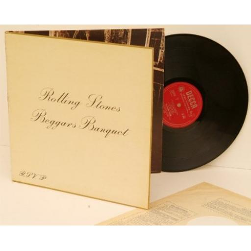 THE ROLLING STONES Beggars Banquet. Rare UK first MONO