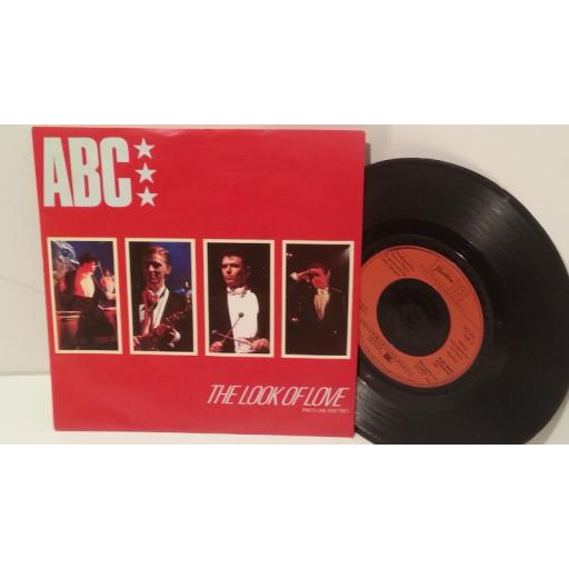 "ABC the look of love parts 1 and 2, 7"" single, NT103"
