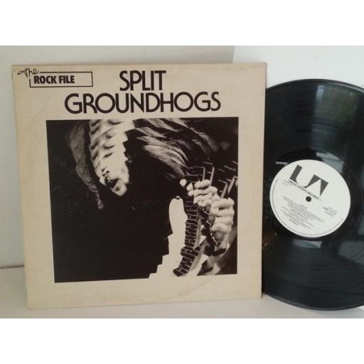 GROUNDHOGS split, LBR 1017