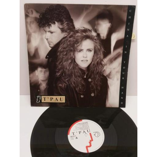 "T'PAU china in your hand (12"" ep), SRN 64-12"