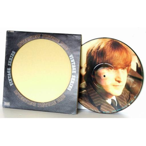 SOLD JOHN LENNON, The last word. Interview picture disc. Vintage series. First UK...
