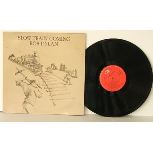 BOB DYLAN, Slow train coming 1979.UK Pressing. CBS. [Vinyl] BOB DYLAN