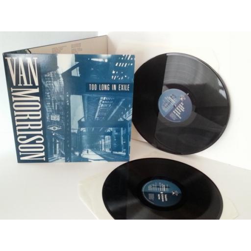 SOLD VAN MORRISON too long in exile, vinyl LP, gatefold, double album