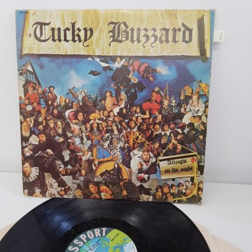 "BUZZARD, TUCKY, allright on the night, 12""LP, 9167-97001"