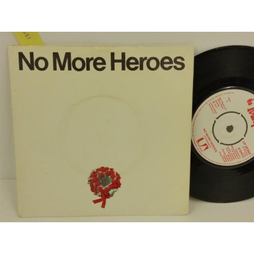 THE STRANGLERS no more heroes, PICTURE SLEEVE, 7 inch single, UP 36300