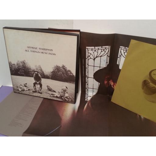 GEORGE HARRISON all things must pass, boxset, 3 x lp, STCH 639, includes poster