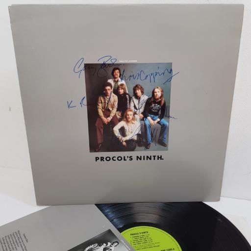 "SOLD : PROCOL HARUM, procol's ninth, CHR 1080, 12"" LP"