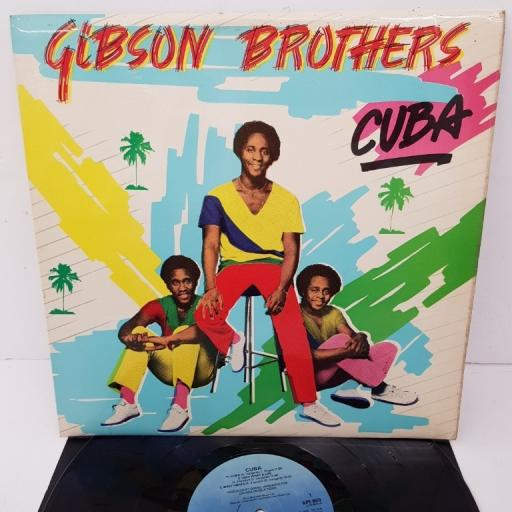 "GIBSON BROTHERS, cuba, ILPS 9579, 12"" LP"