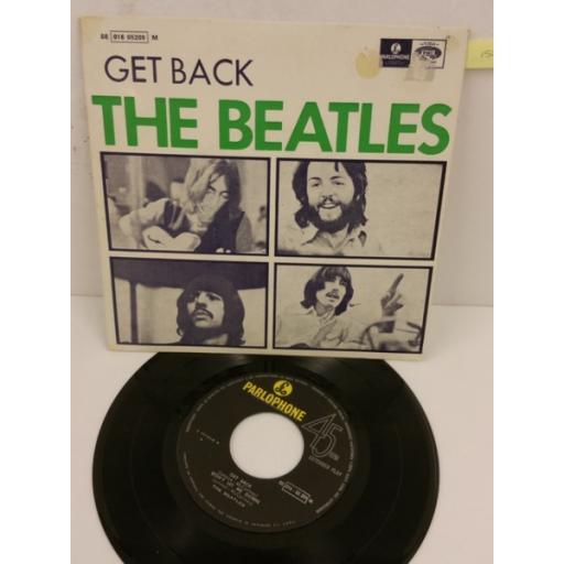 THE BEATLES get back, 7 inch single, 8E 016 05209