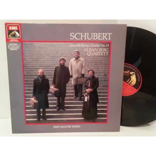 SCHUBERT, ALBAN BERG QUARTETT quartett/ string quartett no. 15,, EG 29 02941
