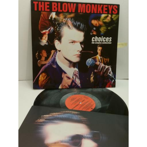 THE BLOW MONKEYS, choices, the singles collection PL74 191