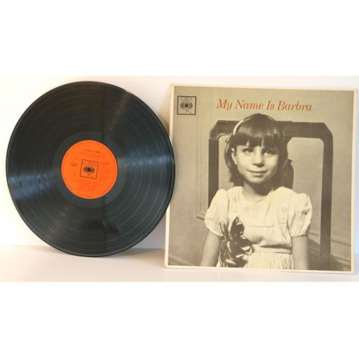 BARBRA STREISAND, my name is Barbra. TOP COPY. Stereo. First UK pressing 1965...