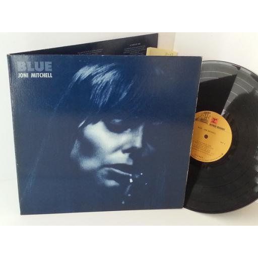 """Joni Mitchell BLUE. 12"""" VINYL LP. K44128"""