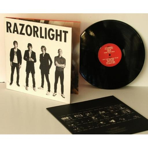 RAZORLIGHT, Razorlight 2006.First UK pressing. Vertigo [Vinyl] RAZORLIGHT