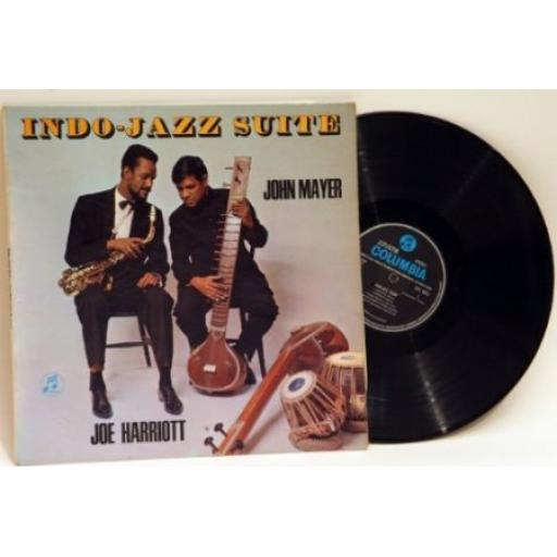 John Mayer and Joe Harriott, INDO JAZZ SUITE .Rare first press mono recording...