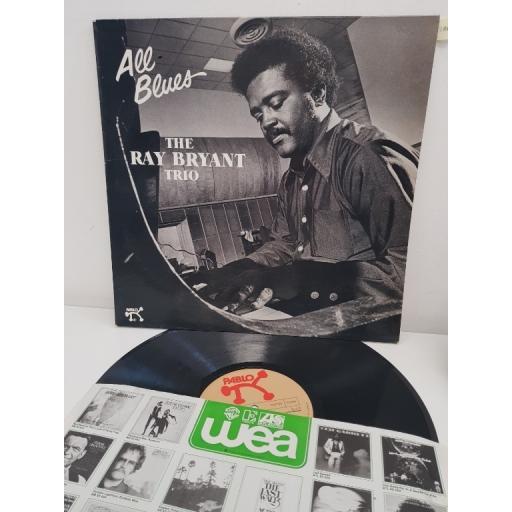 """RAY BRYANT TRIO, all blues, 2310 820, 12"""" LP"""
