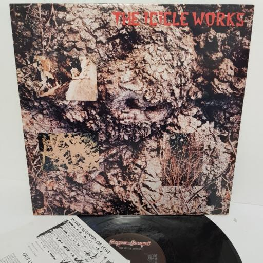 "THE ICICLE WORKS, the icicle works, BEGA 50, 12"" LP"