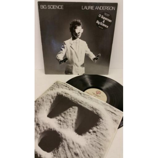 LAURIE ANDERSON big science, WB K 57 002