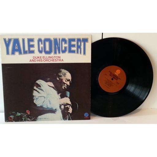 out of stock DUKE ELLINGTON AND HIS ORCHESTRA yale concert