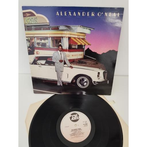 "ALEXANDER O'NEAL, alexander o'neal, TBU 26485, 12"" LP"