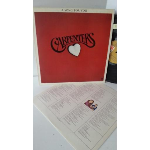 CARPENTERS a song for you, AMLS 63511