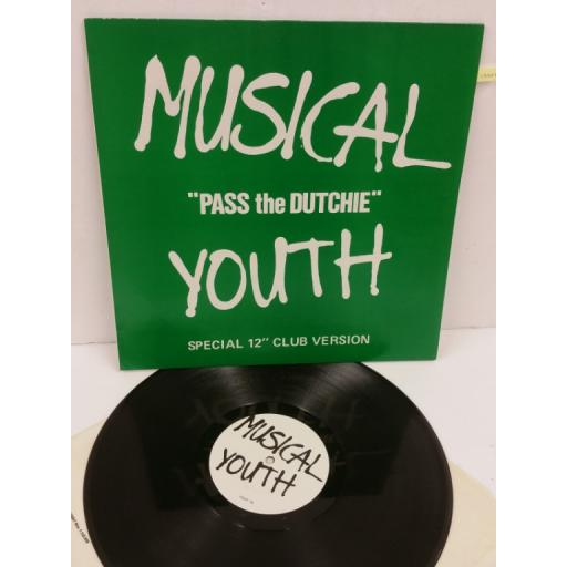 MUSICAL YOUTH pass the dutchie (special 12 inch club version), YOUT 1
