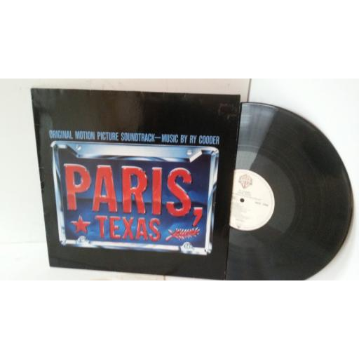 RY COODER paris, texas (original motion picture soundtrack), 925 270-1