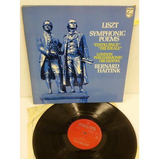 LISZT, BERNARD HAITINK, THE LONDON PHILHARMONIC ORCHESTRA symphonic poems, 6500 191