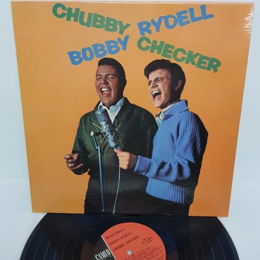 "CHUBBY CHECKER, BOBBY RYDELL, bobby rydell / chubby checker, C-1013, 12"" LP, mono"