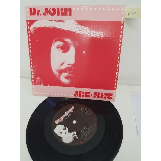 DR. JOHN, jet set, side B jet set instrumental, BEG 107 , 7'' single