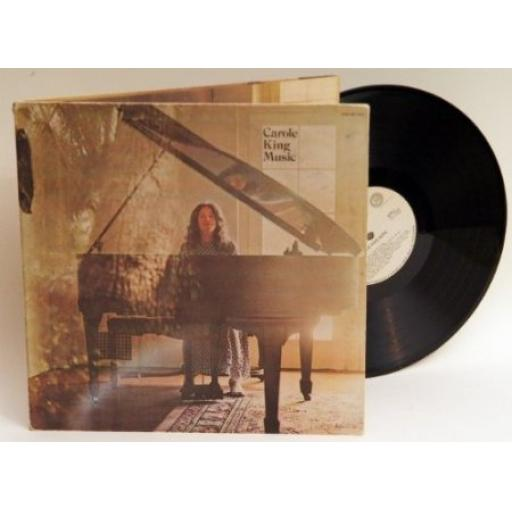 Carole King MUSIC. With lyric insert. First UK press 1971