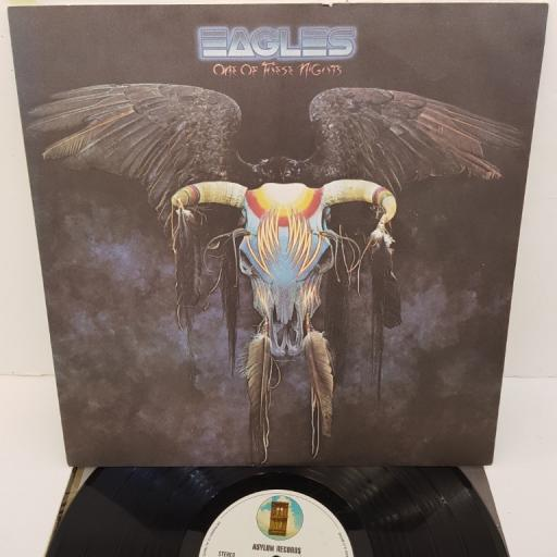 """EAGLES, one of these nights, SYLA 8759, 12"""" LP"""