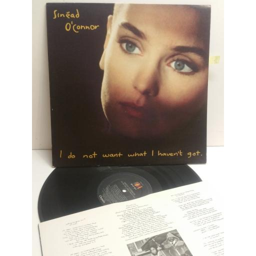 SINEAD O'CONNOR I do not want what I haven't got CHEN 14