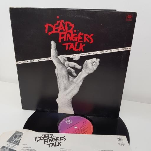 "DEAD FINGERS TALK, the storm reality studios, 12""LP, GATEFOLD, NSPH 24"