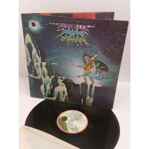 URIAH HEEP DEMONS AND WIZARDS ILPS 9193