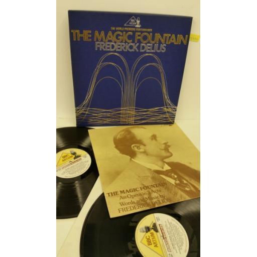 FREDERICK DELIUS the magic fountain, 2 x vinyl, libretto, boxset, BBC 2001