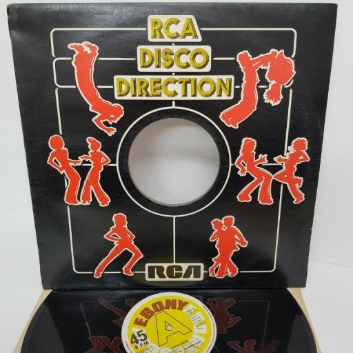 "THE CATS 'N' JAMMER KIDS, disco drum, B side disco drum (part 5), EYEC 3, 12"" single"