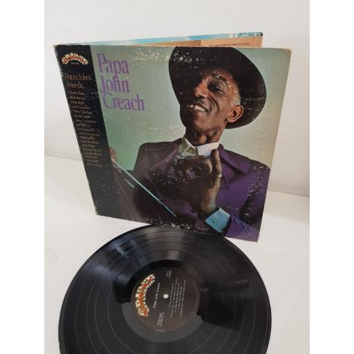 "PAPA JOHN CREACH, papa john's friends, FTR-1003, 12"" LP"