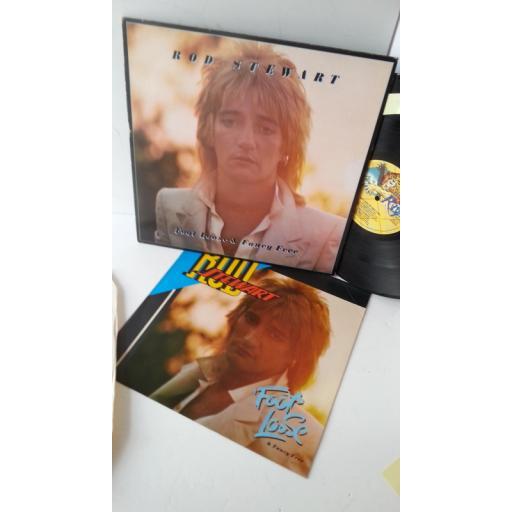 ROD STEWART footloose and fancy free, RVLP 5, picture booklet