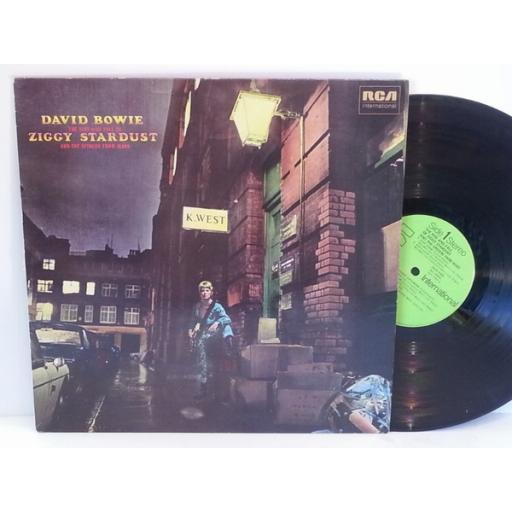 David Bowie THE RISE AND FALL OF ZIGGY STARDUST AND THE SPIDERS FROM MARS, INTS 5063