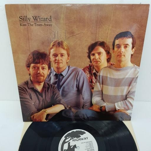 """SILLY WIZARD, kiss the tears away, SHY 7025, 12"""" LP, signed copy"""