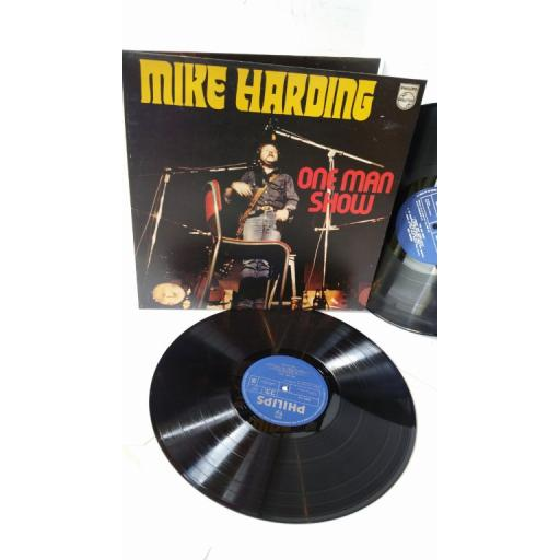 MIKE HARDING one man show, 2 x lp, gatefold, 6625 022