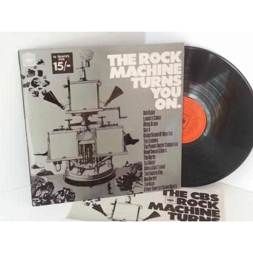 MOBY GRAPE, THE ZOMBIES, US of A, ROY HARPER, LEONARD COHEN, ETC ETC the rock machine turns you on, SPR 22