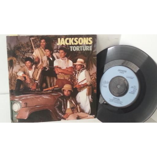 THE JACKSONS torture, 7 inch single, A 4675