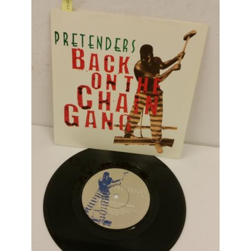 PRETENDERS back on the chain gang / my city was gone, 7 inch single, ARE 19