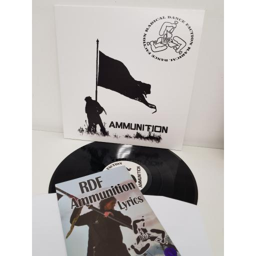 "RADICAL DANCE FACTION, ammunition, AMMUNITION, 12"" LP"
