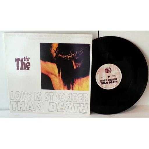 """THE THE love is stronger than death, 12"""" vinyl"""