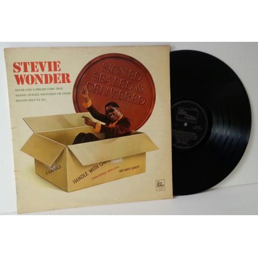 OUT OF STOCK Stevie Wonder, signed sealed & delivered
